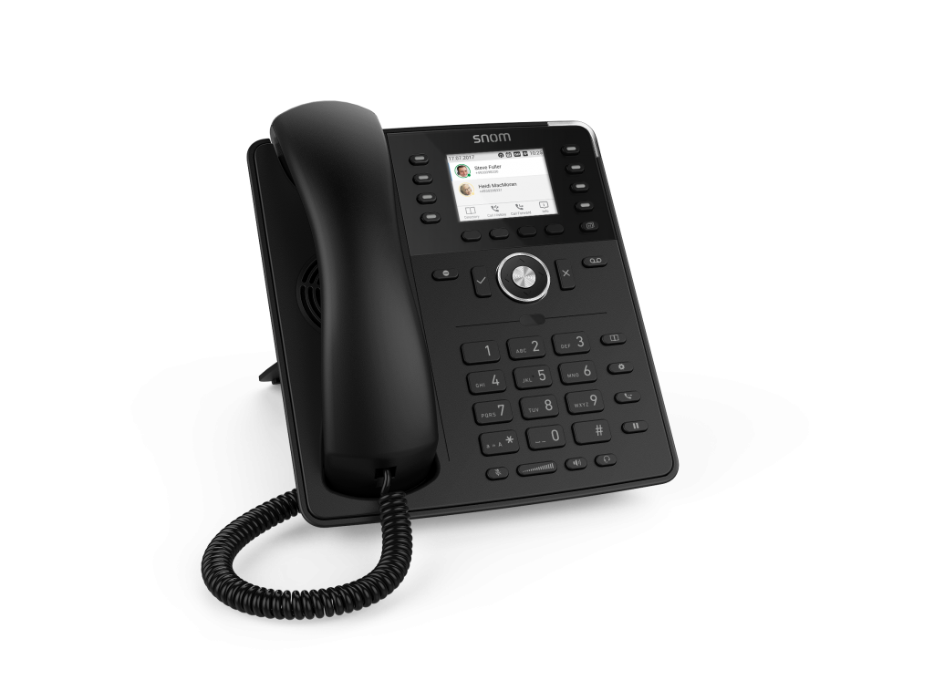 Snom D735 Telephone Black