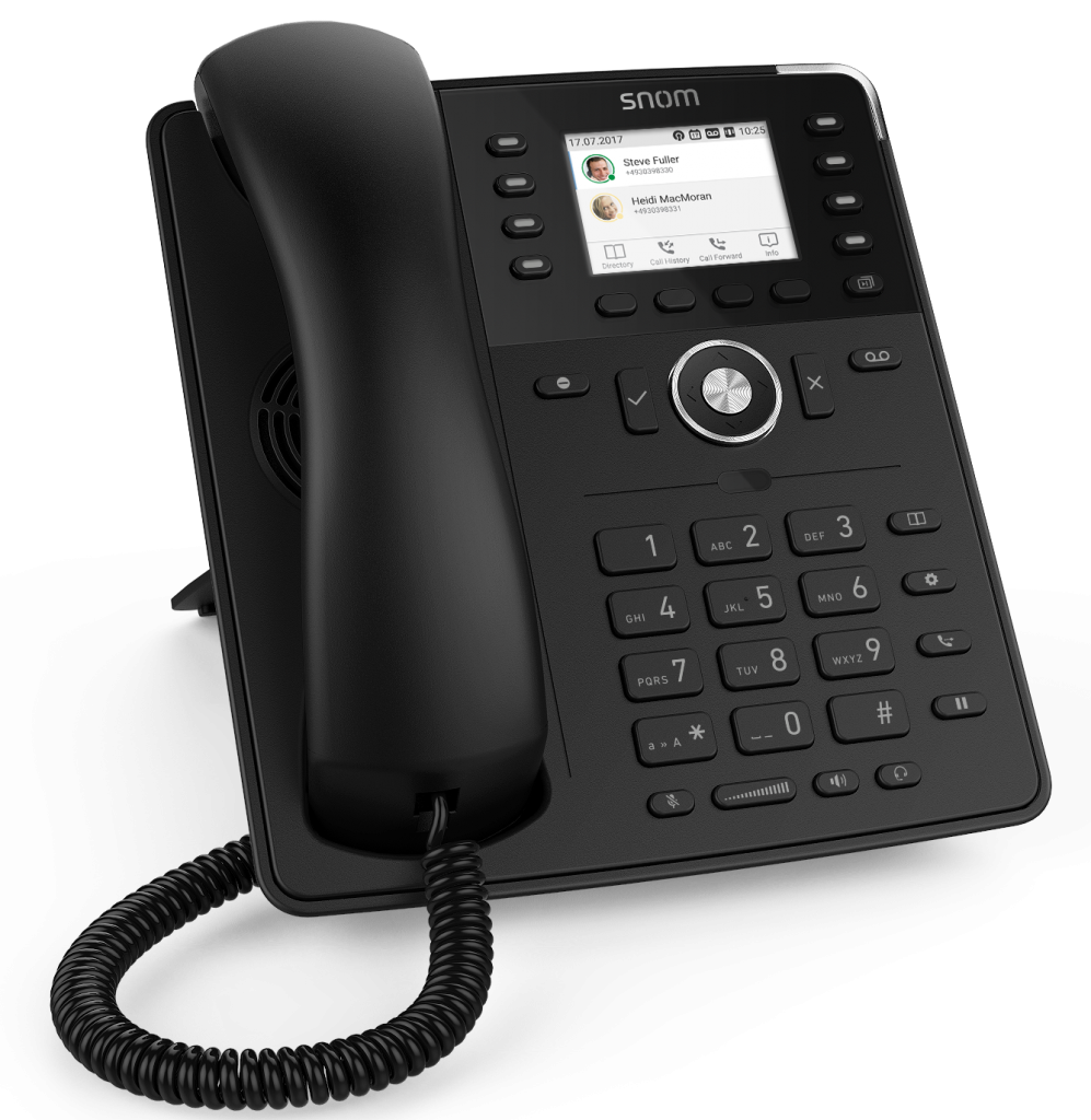Snom D735 Telephone Black
